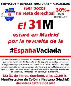 ESPAÑA-VACIADA-SOS-SOSTALAVERA-TALAVERA-MANIFESTACION-MADRID-31-MARZO